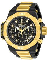 Invicta Akula Black Dial Quartz Watch, 58mm
