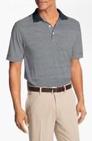 Cutter & Buck Men's Big & Tall 'Trevor' Drytec Moisture Wicking Golf Polo