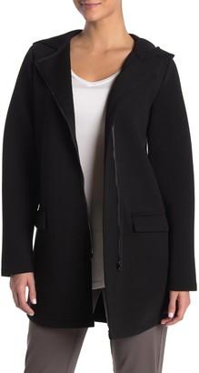 Betsey Johnson Knit Hooded Coat