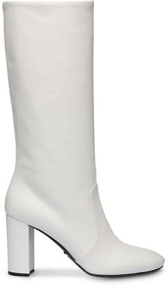 Prada chunky heel boots
