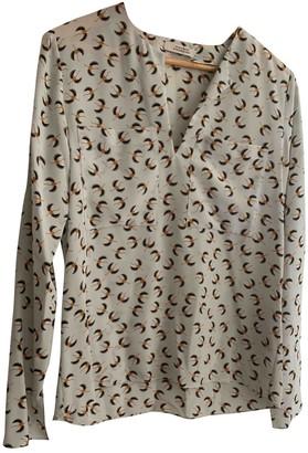 Schumacher Dorothee White Silk Top for Women