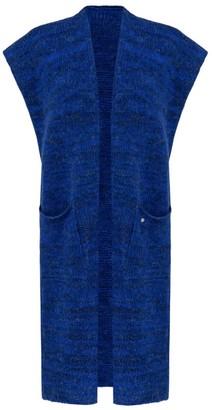 You By Tokarska Cuddly Sweater Vest With Pockets Megi Navy Blue