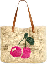 INC International Concepts I.N.C. Kiraa Cherry Extra-Large Beach Tote, Created for Macy's