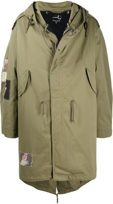 Fred Perry Oversized Rain Coat