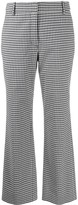 Derek Lam 10 Crosby Gingham Flared Trousers