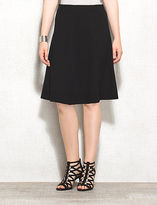 dressbarn roz&ALI Ponte Flare Skirt