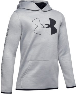 Under Armour Boys' Armour Fleece Branded Hoodie