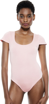 Alice + Olivia Jenara Cap Sleeve Bodysuit