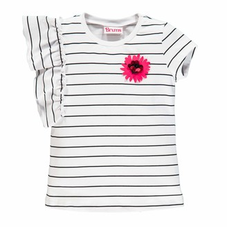 Brums Girl's T-Shirt Jersey El.c/APPL.Fiore Kniited Tank Top
