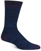 Hot Sox Melange Stripe Socks