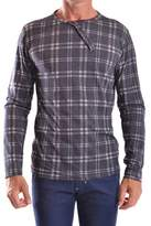 Daniele Alessandrini Men's Grey Cotton Sweatshirt.