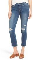 Paige Women's Miki Crop Straight Leg Jeans