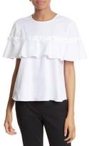 Jonathan Simkhai Women's Cotton Ruffle Top