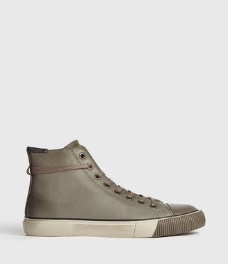 AllSaints Osun High Top Leather Sneakers