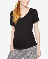 A Pea in the Pod Maternity Ruched Tee