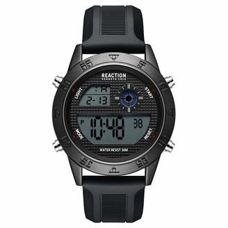 Kenneth Cole Men's Quartz Sport Watch with Silicone Strap