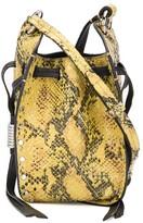 Isabel Marant Radji snakeskin-effect bucket bag