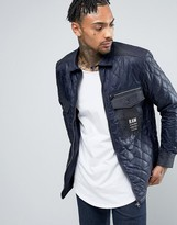 G-star Type C Dnm Pm Quilted Zip Jacket