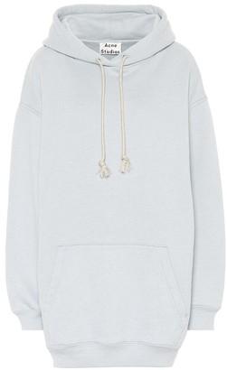 Acne Studios Logo cotton-blend jersey hoodie