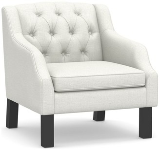 Pottery Barn Aimee Tufted Upholstered Armchair