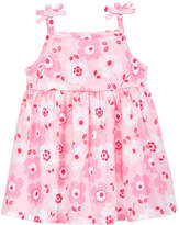 First Impressions Printed Cotton Sundress, Baby Girls, Created for Macy's