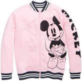 Disney Mickey Mouse Bomber Jacket, Big Girls