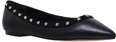Carvela Mars Pointed Toe Studded Ballet Pumps