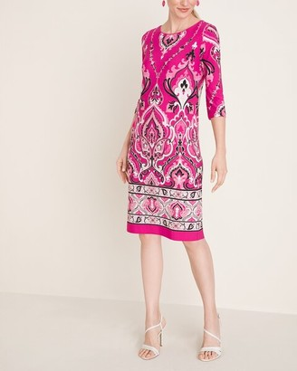 Chico's Printed Shift Dress
