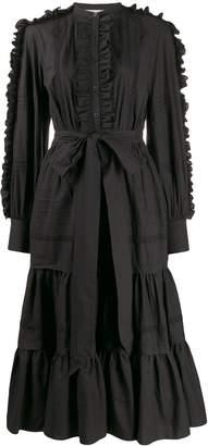 Temperley London Jade ruffle detail dress