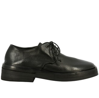 Marsèll Gommolone Derby In Leather With Multilayer Rubber Sole