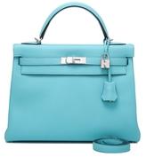 Blue Atoll Togo Kelly Bag – 32cm