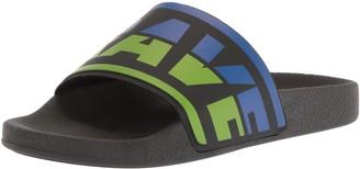 Diesel Men's A-LOHAA SA-MARAL Slide Sandal
