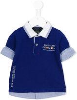 Lapin House - layered polo shirt - kids - Cotton - 12 mth