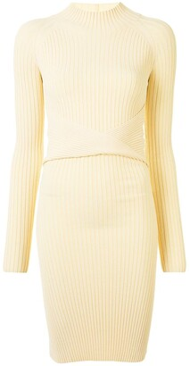 Dion Lee Cutout Twist-Detail Dress