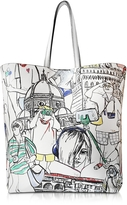 Emilio Pucci Florence Printed Leather Tote Bag