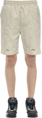 A-Cold-Wall* Logo Print Taped Nylon Track Shorts