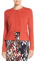 BOSS Fadra Texture Knit Wool Cardigan