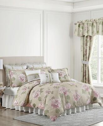 Croscill Everly Queen 4 Piece Comforter Set Bedding