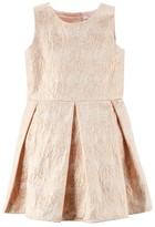 Carter's Girls 4-8 Floral Jacquard Dress