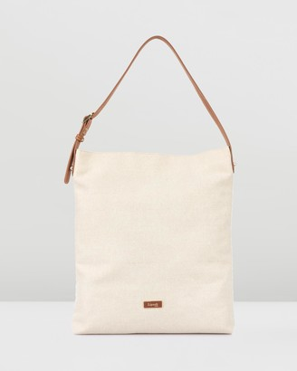 Lipault Novelty Collection Linen Tote Bag
