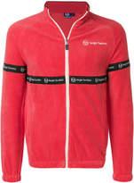 Sergio Tacchini velvet effect sweatshirt