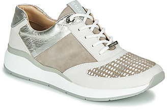 JB Martin 1KALIO women's Shoes (Trainers) in Beige