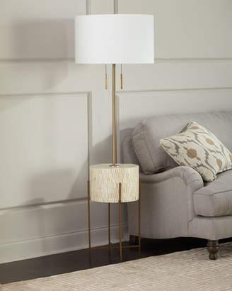 REGINA ANDREW Resse Natural Brass Floor Lamp