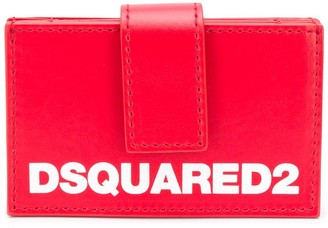 DSQUARED2 Multi-Compartment Leather Wallet