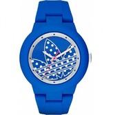 adidas Men's 41mm Blue Silicone Band & Case Quartz Analog Watch adh3049