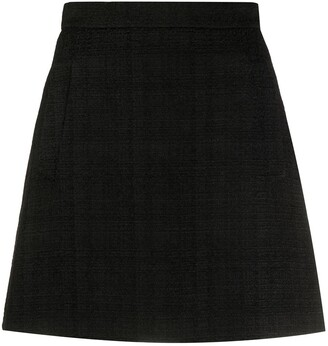 Etro Tweed Style High-Waisted Skirt