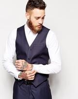 Asos Slim Fit Suit Vest In Tonic