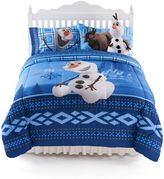 Disney Olaf Ice Friends Comforter - Twin/Full
