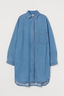 H&M Oversized Denim Dress