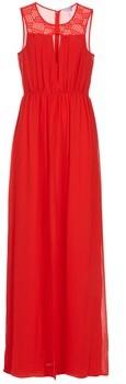 BCBGeneration LONU women's Long Dress in Red